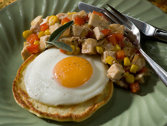 ... Fried Eggs and Turkey-Red Pepper Hash | Nature's Corner Natural Market