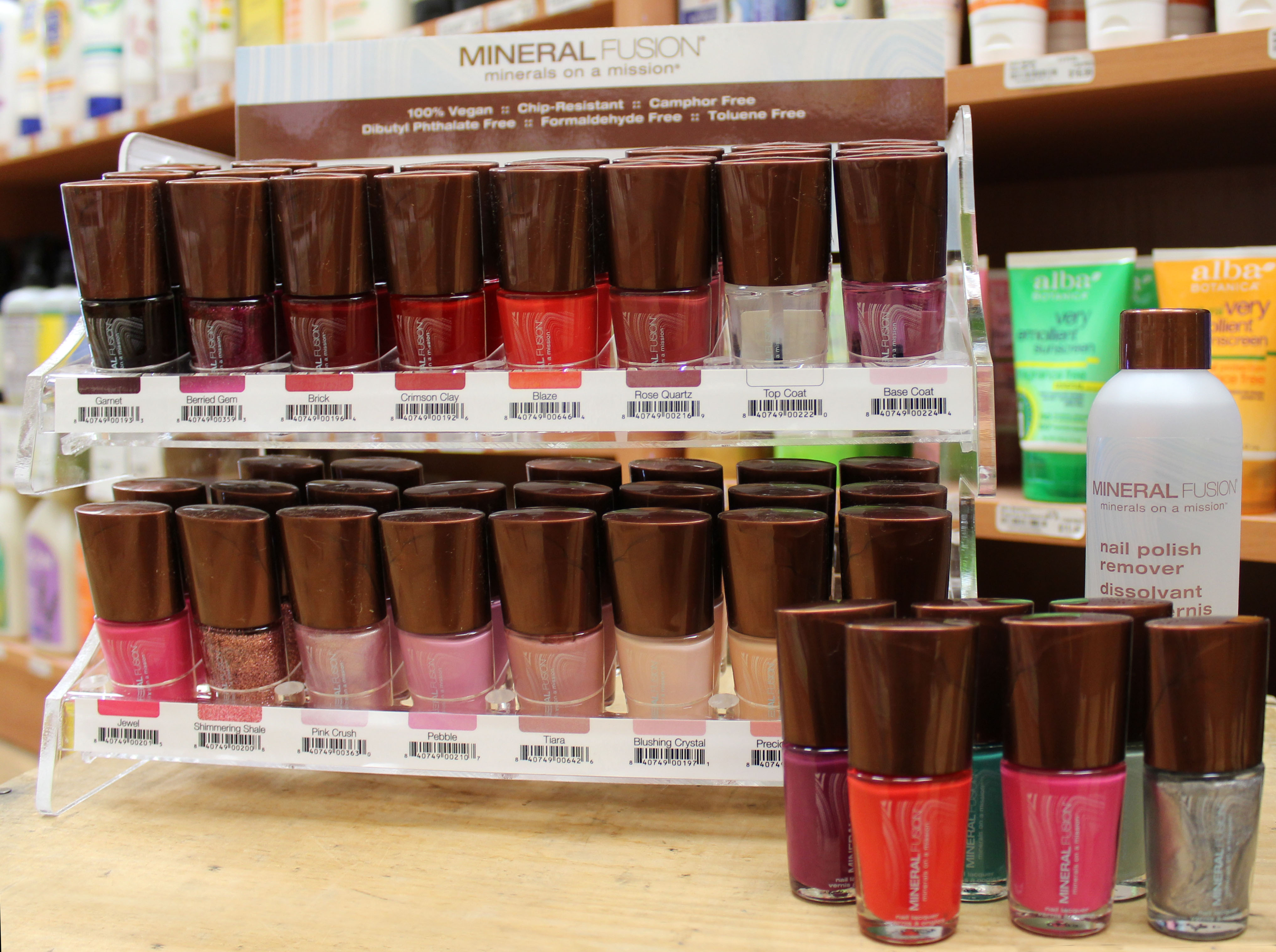 Community Natural Foods Nail Polish