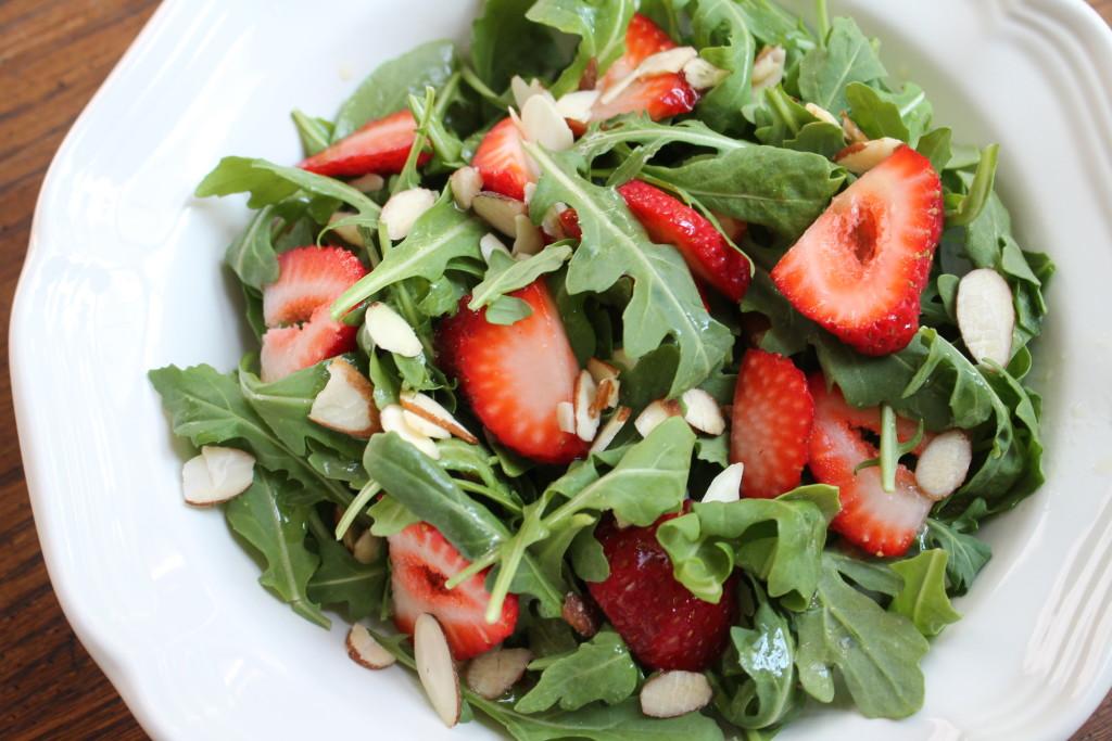 arugula-strawberry-salad
