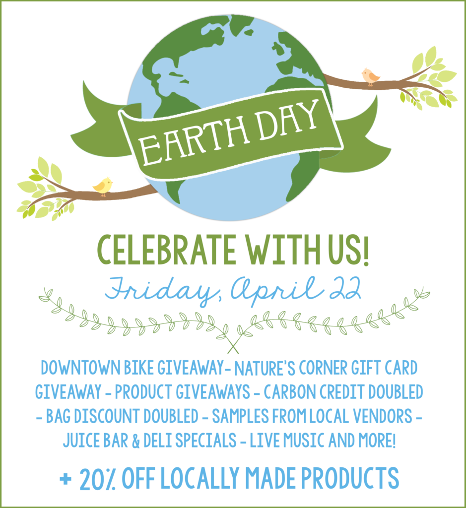 earth day + local sale